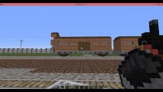 Auschwitz concentration camp minecraft