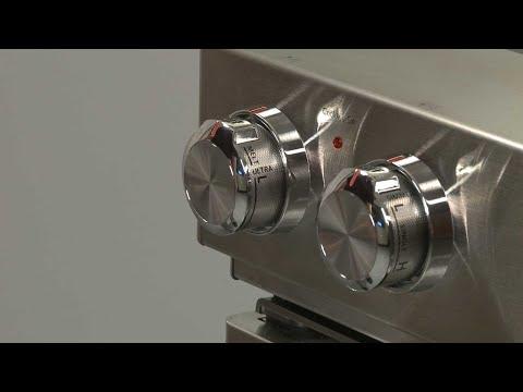 Left Rear Control Knob - Kitchenaid Electric Slide-In Range Model #KSEB900ESS2