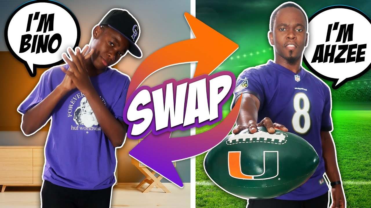 13 YEAR OLD SON AND DAD SWAP LIVES FOR A DAY ! | DAMIS SQUAD