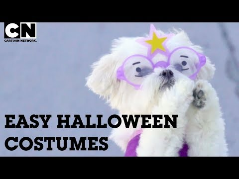 Easy Last Minute Halloween Costume Ideas! | LET'S CREATE | Cartoon Network