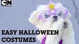 Easy Last Minute Halloween Costume Ideas! | Cartoon Network