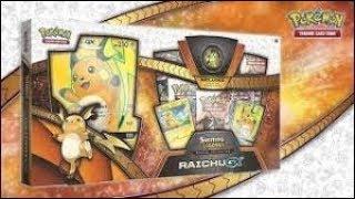 RAICHU GX SHINING LEGENDS SPECIAL POKEMON COLLECTION BOX