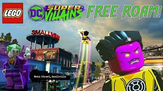 LEGO DC Super-Villains Free Roam Gameplay: Smallville, Metropolis, Gotham and More! ALL NEW!