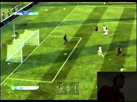 EA FIFA World Cup 2010 Mexico vs Nigeria Gameplay