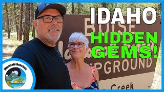Idaho Camping GEMS | Low Cost and FREE Camping | Mountain Beaches
