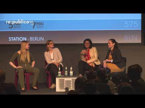 re:publica 2015 - Female Leadership: Weibliche Führung für Europa definieren und etablieren on YouTube