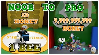 BEE SWARM SIMULATOR NOOB TO PRO - NOOB WITH GIFTED BEE? - CODES - Roblox