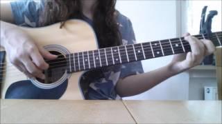 Fools Garden - Lemon Tree guitar cover