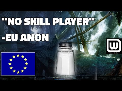 Starcraft 2: NO SKILL PLAYER (Typical EU Salt)