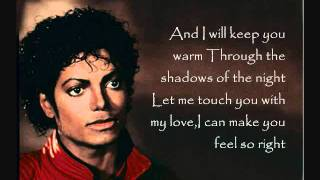 Michael Jackson - Lady In My Life (Lyrics)