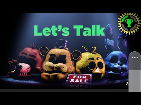 Game Theory: Fnaf We Need To Talk. React