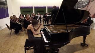 В А Моцарт Концерт для фортепиано с оркестром 25 до мажор 23 02 2015 Оркестр Павла Опаровского