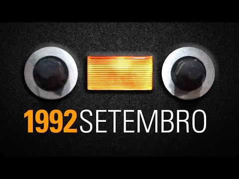 Fita audio cassete Funk Rio de Janeiro - 1992 Setembro