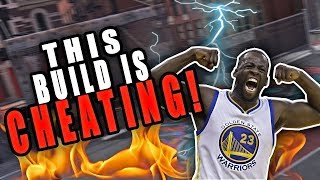 THIS NBA2K18 BUILD IS CHEATING! SF/PF BEST 2k18 BUILD EVERYONE IS AFRAID OF! (Draymond Green)