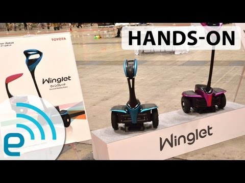 Toyota Winglet hands-on at CEATEC 2013 | Engadget
