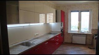 Кухня мдф покраска. Фурнитура блюм. Кухня на заказ Киев.(, 2017-04-11T09:09:49.000Z)