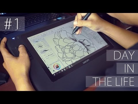 A Day in My Life as an Illustrator - #1