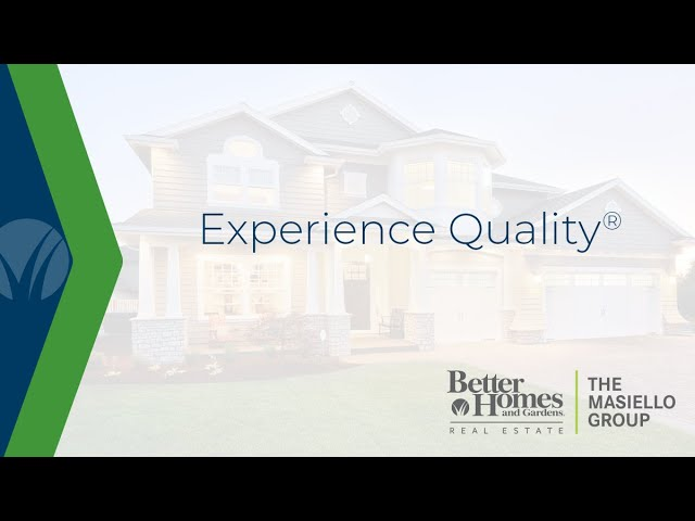 Experience Quality® with BHGRE The Masiello Group