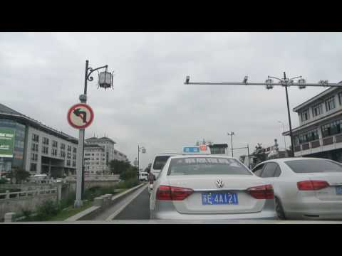 20161015_Driving on Ganjiang Road in Ancient City of Suzhou