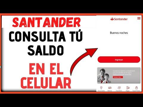 ❤Como Consultar Tu Saldo De Santander Desde El Celular (supermovil 2020)👈