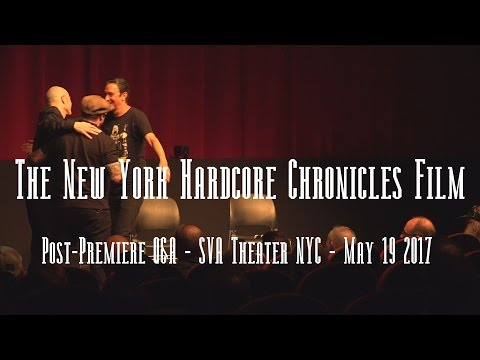 The Hardcore Chronicles Film post-premiere Q&A