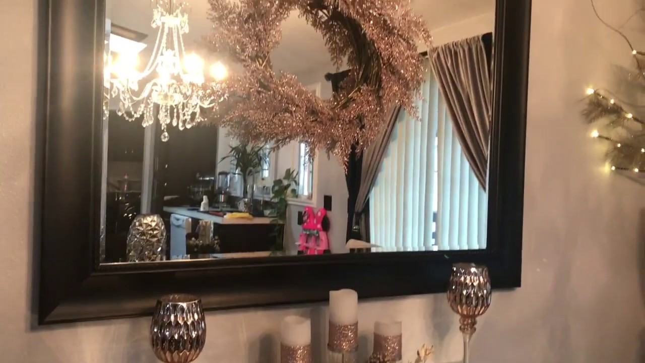 Como decorar la entrada de tu casa sin gastar dinero recibidor para navidad youtube - Decorar la entrada de casa ...