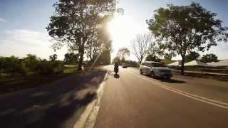 GoPro Hero3 Yamaha 125ZR 2 Stroke