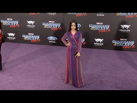 "Jenna Ortega ""Guardians of the Galaxy Vol 2"" World Premiere"