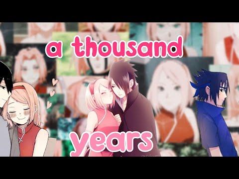 🍓🍒[a Thousand Years]🍒🍓 🌸AMV🌸 ❤Sasusaku❤ °tradução°