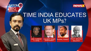 UK Discusses Kashmir In Parliament   Time India Educates UK MPs?   NewsX