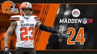 Madden NFL 18 Owner Mode (Cleveland Browns) #24 Week 4 vs. Bengals