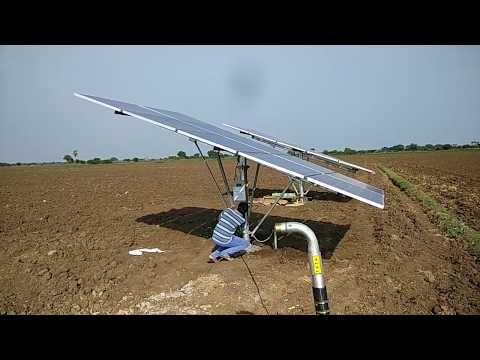 Solar powered Borewell with 5HP motor