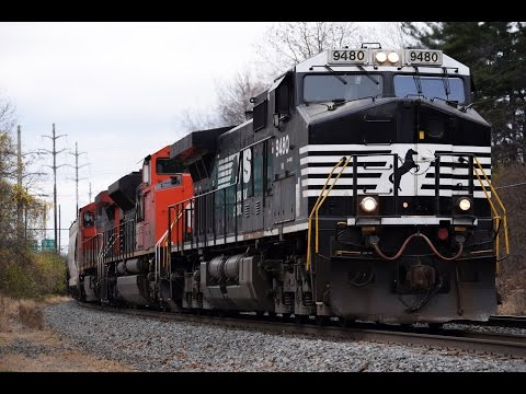 Freight Train Operations at the CP Wyomissing Junction - November 26, 2016