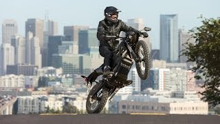 #4. Очень надежный мотоцикл Zero FX 2014
