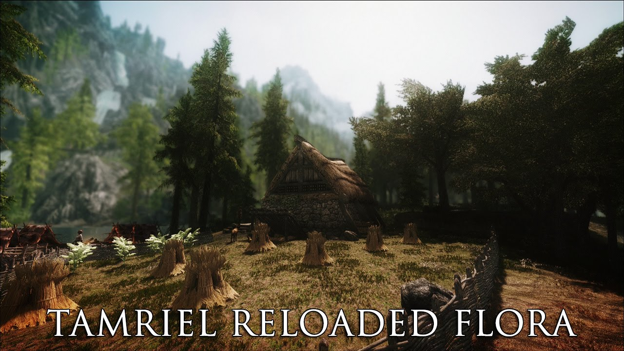 Skyrim моды #13 [tamriel reloaded hd текстуры] youtube.