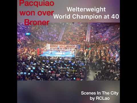 Pacquiao vs Broner WWW Boxing Championship