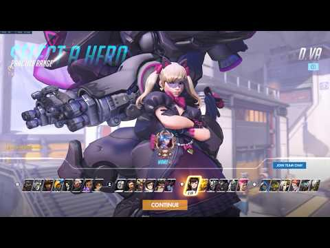 Overwatch - Black Cat D.Va Skin - Gameplay, Highlight Intros & more!