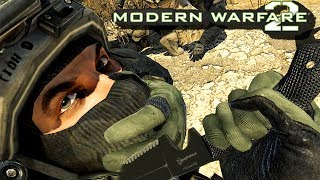 Call of Duty: Modern Warfare 2 Gameplay PC - Sniper Stealth Mission