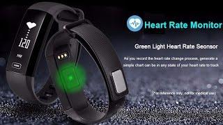 ЛУЧШИЙ браслет для измерения Давления, M2 Smart Bracelet, из Китая