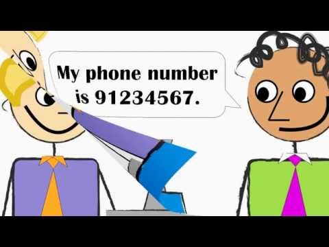 PERSONAL INFORMATION IN ENGLISH  FIRST NAME, LAST NAME, PHONE NUMBER, EMAIL ADDRESS