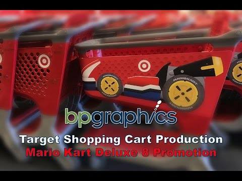 Mario Kart Deluxe 8 Shopping Cart Production