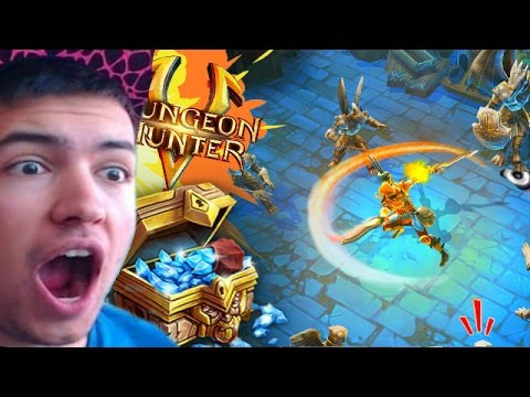 CRAZY FIRST CHEST OPENING! - Dungeon Hunter 5 - RAIDING STRONGHOLDS!