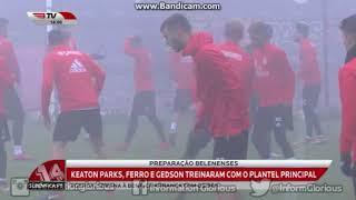 Francisco Ferreira e Gedson Fernandes, têm treinado com a equipa principal do SL Benfica