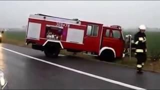 Compilation d'erreur et d'accident de camion de pompier