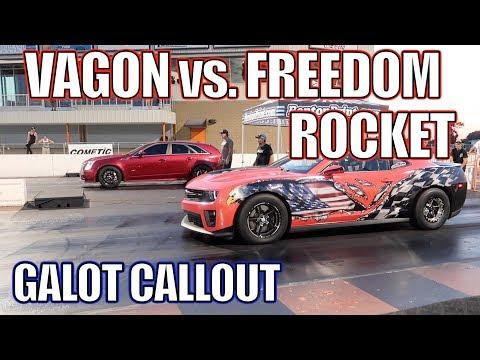 CSP Vagon vs Freedom Rocket! Galot YouTube CallOut!