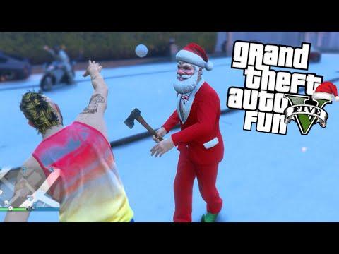 GTA 5 Next Gen Fun - Christmas DLC,...