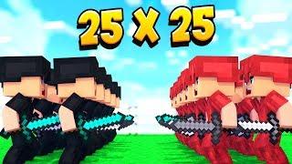 Скачать 25 VS 25 ЧЕРНАЯ ПАНТЕРА ВНОВЬ НАПАДАЕТ ЧТО ДЕЛАТЬ КОРОЛЮ Minecraft