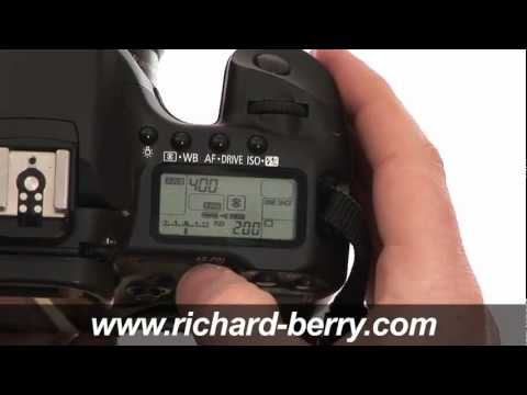 How To Use A Canon EOS 40D
