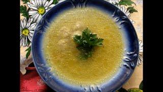 Рисовый суп на скорую руку