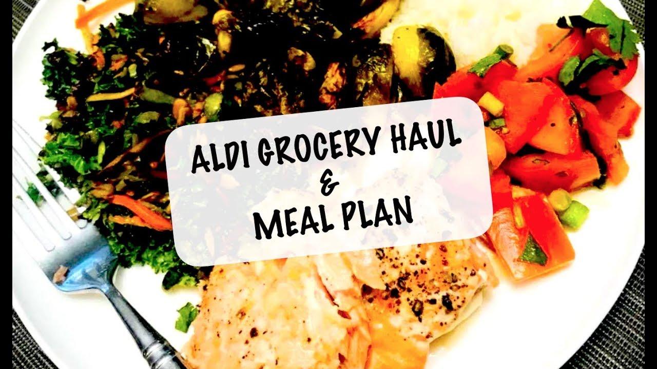 ★ Aldi Haul & Meal Plan ★ March 26 2018